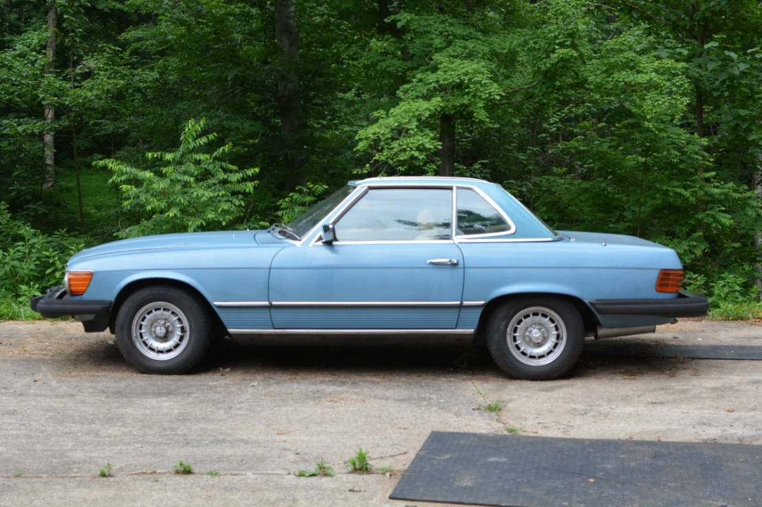 Nice Benz Project 1981 380sl Convertible Jalopy Stalker Fuel Filter The Seller Also Mentions That They Have Purchased A Number Of New Parts For Getting This Car Back On Road Pump And